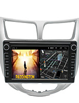 cheap -Android 9.0 2din Autoradio Car Navigation Stereo Multimedia Player GPS Radio 8 inch IPS Touch Screen for Hyundai Verna 2010-2016 1G Ram 32G ROM Support iOS System Carplay