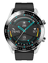 cheap -KESHUYOU I12 Smart watch Men Round Full Touch Screen Sport Fitness DIY Watchface IP67 Waterproof Answer Call For Android ios Ne