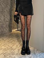 cheap -Fashion Cute Women's Socks Cartoon Transparent Pantyhose Sheers Party Halloween Thin 10D Party White 1 Pair