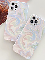 cheap -Phone Case For Apple Back Cover iPhone 12 Pro Max 11 SE 2020 X XR XS Max 8 7 Shockproof Dustproof Geometric Pattern TPU