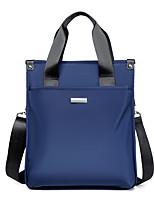 cheap -Men's Bags Nylon Synthetic Top Handle Bag Zipper Daily Outdoor 2021 Handbags Baguette Bag Blue Black