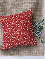 cheap -Christmas Party Double Side Cushion Cover 1PC Soft Decorative Square Throw Pillow Cover Cushion Case Pillowcase for Bedroom Livingroom Superior Quality Machine Washable Indoor Cushion for Sofa Couch Bed Chair