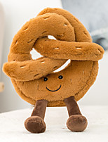 cheap -Toast Croissant Small Waist  Bread Story Series Plush Toy Soothing