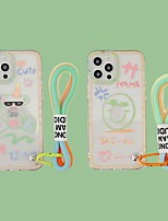cheap -Phone Case For Apple Back Cover iPhone 12 Pro Max 11 SE 2020 X XR XS Max iphone 7Plus / 8Plus Shockproof Dustproof Cartoon TPU