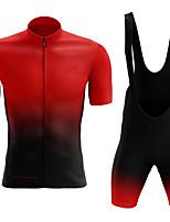 cheap -men's cycling jersey set, cycling shorts gel padded shorts cycling jersey combo kit (size : m)