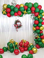 cheap -119-piece Christmas Balloon Set Christmas Decorations Christmas Ornaments Holiday Decorations Party Garden Wedding Decoration