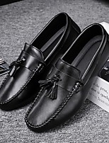 cheap -Men's Loafers & Slip-Ons Casual Athletic PU Black Fall