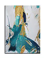 cheap -Oil Painting Handmade Hand Painted Wall Art Rectangle Abstract Bedroom Decoration Paintings Home Decoration Decor Stretched Frame Ready to Hang