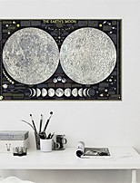 cheap -Wall Art Canvas Prints moon Home Decoration Decor Rolled Canvas No Frame Unframed Unstretched