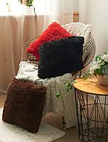 cheap -HOME Luxury Soft Faux Fur Fleece Cushion Cover Pillowcase Decorative Throw Pillows Covers