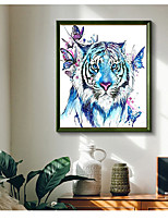 cheap -DIY 5D Diamond Painting Wall Home Decor Decoration Kits Animal Tiger for Adults Kids