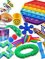 cheap -Fidget Packs 24 Pack Sensory Toys Set ADHD Toys for Kids Toys for Reducing The Stress and Anxiety of Children Adults Gifts for Birthday Party Favors