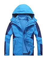 cheap -Kids Boys' Coat Long Sleeve Blue Yellow Green Plain Zipper Pocket Active Cool 4-12 Years / Fall / Spring