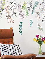 cheap -willow branch decoration self-adhesive wallpaper warm bedroom room living room stickers background wall stickers