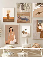 cheap -Wall Art Canvas Prints Painting Artwork Picture People Holiday Home Decoration Decor Rolled Canvas No Frame Unframed Unstretched