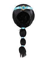 cheap -Jasmine Cute Aladdin Magic Lamp Arabian Princess Costume Little Girls Wig For Birthday Halloween Party Dress Up