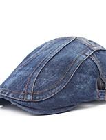 cheap -Men's Protective Hat Street Dailywear Pure Color Color Block Blue Hat