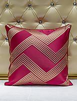 cheap -1 pcs Velvet Synthetic Pillow Cover, Art Deco Geometric Luxury Modern Square Zipper Traditional Classic