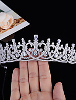 cheap -Retro Baroque Star Lang Lang With The Same Wedding Headdress Bride Married Zircon Crown High-end Hair Accessories