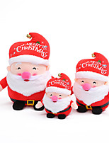 cheap -Mini Santa Doll Lovely Christmas Ornament Miniature Stuffed Toy for House Decoration Hanging Gift Toy