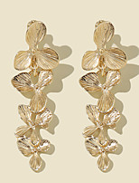 cheap -Women's Hoop Earrings Chandelier Tree of Life Rustic Vintage Classic Modern Korean Earrings Jewelry Gold For Party Gift Daily Club Festival 1 Pair