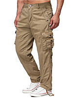 cheap -Men's Hiking Pants Trousers Outdoor Windproof Quick Dry Lightweight Breathable Pants / Trousers Bottoms Navy khaki Black Dark Gray Fishing Climbing Running 30 32 34 36 38