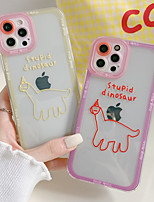 cheap -Phone Case For Apple Back Cover iPhone 12 Pro Max 11 SE 2020 X XR XS Max 8 7 Shockproof Dustproof Word / Phrase TPU