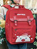 cheap -School Bag Christmas Daypack Bookbag Laptop Backpack with Multiple Pockets for Men Women Boys Girls 26.4*11*37/31*14*41/31*14*41cm