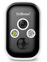 cheap -SriHome SH033 IP Security Cameras 3MP Cube WIFI Wireless Waterproof Wi-Fi Protected Setup Night Vision Indoor Outdoor Support 128 GB