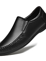 cheap -Men's Loafers & Slip-Ons Business Casual Daily Office & Career Nappa Leather Black Brown Fall Spring