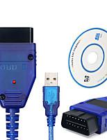 cheap -USB VAG-COM 409.1 Vag Com 409Com vag 409 kkl OBD2 USB Diagnostic Cable Scanner Auto Cable Aux For V W Audi Seat Volkswagen Skoda