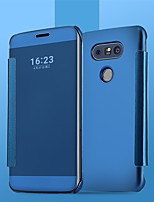cheap -Phone Case For Apple Full Body Case LG V40 LG V50 LG V30 LG V30+ LG G8 LG Q60 LG K50 K50S Shockproof Dustproof Solid Colored TPU