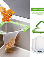 cheap -Triangle Drainage Rack Disposable Garbage Bag Anti-clogging Sink Drain Hole Trash Strainer Mesh Garbage Bag for Kitchen Waste