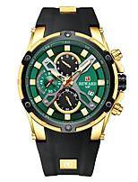 cheap -Reward Men's Quartz Wristwatch Luxury Business Stainless Steel Wrist Watch Waterproof Chronograph Luminous Sport Watches for Men