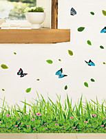 cheap -Animals Floral Plants Wall Stickers Bedroom Living Room Removable Pre-pasted PVC Home Decoration Wall Decal 1pc