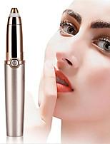 cheap -1pc Lipstick Style Electrica Eyebrow Trimmer Sharp Blade Clip Facial Hair Razor Barber Dscosmetic Portable Makeup Tool for Women