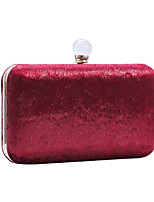 cheap -Women's Bags Polyester Evening Bag Chain Plain Party / Evening Retro Evening Bag Chain Bag Wine Blushing Pink Silver Gold