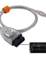 cheap -MINI VCI J2534 Interface for Toyota TIS Techstream V15.00.028 MINI VCI FT232RQ Chip J2534 Car Diagnostic Scan Tool Code Reader