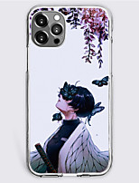 cheap -Demon Slayer: Kimetsu no Yaiba Cartoon Characters Phone Case For Apple iPhone 13 12 Pro Max 11 X XR XS Max iPhone 12 Pro Max 11 SE 2020 X XR XS Max 8 7 Unique Design Protective Case Shockproof