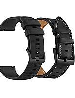 cheap -yeejok 22mm watch bands compatible for fossil gen 5e 44mm/gen5 men's carlyle garrett/women's gen 5 julianna smart watch, sport silicone watch strap+genuine leather strap, black+black