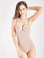 cheap -Body Shapewear V Neck Body Shaper Plunge Thong Body Women Belly Sheath Waist Trainer Push Up Corset Slimming Underwear