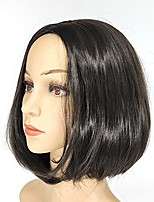 cheap -black bob wig without bangs shoulder length womens straight short wig 12 inch natural looking synthetic heat resistant fiber colorful costume wigs for daily party