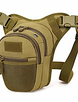 cheap -tactical drop leg waist bag - military thigh hip pack molle tools bag outdoor cycling utility pouch (brown)