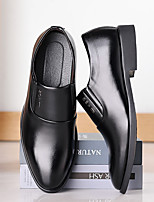 cheap -Men's Loafers & Slip-Ons Business Casual Classic Daily Office & Career Leather Black Fall Winter