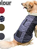 cheap -autumn and winter pet clothing double-sided dog clothes that can wear outdoor new pet clothes dog coat