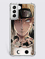 cheap -Naruto Cartoon Characters Phone Case For Samsung S21 S21 Plus S21 Ultra Unique Design Protective Case Shockproof Dustproof Back Cover TPU