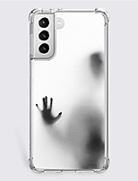 cheap -Halloween Phone Case For Samsung S21 S21 Plus S21 Ultra Unique Design Protective Case Shockproof Dustproof Back Cover TPU