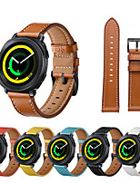 cheap -compatible for galaxy watch 4 classic 46mm 42mm bands, 20mm leather quick release watch strap compatible for samsung galaxy watch 4 40mm 44mm/active 2/3 41mm band