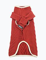 cheap -pet it 2021 new autumn and winter dog clothes retro twist pet sweater to send bib corgi teddy golden retriever cross-border