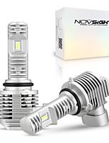 cheap -NOVSIGHT 50W 11 Design Mini Led Car Headlight Bulb 12000LM H4 H7 H11 9005 9006 HB4 HB3 6000K Lamp For Auto LED Bulbs Fog Lights 2pcs